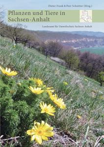 """Titelseite des Buches """"Pflanzen und Tiere in Sachsen-Anhalt"""""""